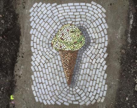 Το παγωτό γίνεται τέχνη στους δρόμους του Σικάγο