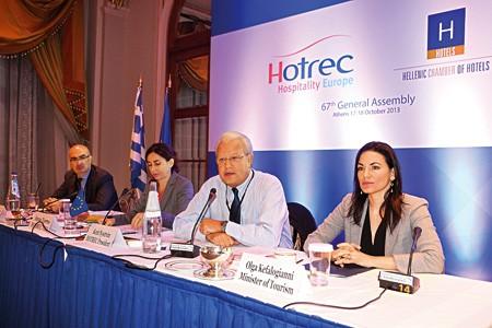 67η Γενική Συνέλευση της HOTREC στην Αθήνα