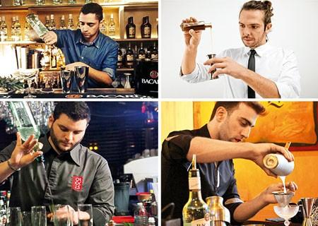 4 πρόσωπα, 4 cocktails