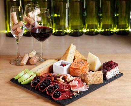 Cheese wine bars