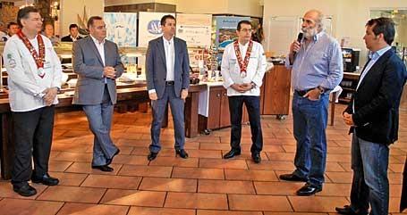 """Υπεγράφη """"Σύμφωνο συνεργασίας"""" για το Ελληνικό Πρωινό στη Χαλκιδική"""